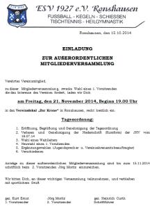 Einladung AO HV 20141121