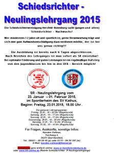 SR-Lehrgang 2015